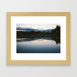 Hidden Pond Framed Art Print