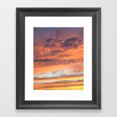 Berkshire Sunset II Framed Art Print