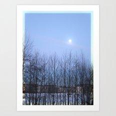 Winter Sky 2013 Art Print