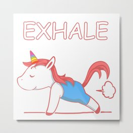 exhale phoni Metal Print