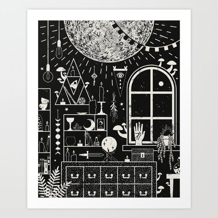 Moon Altar Kunstdrucke