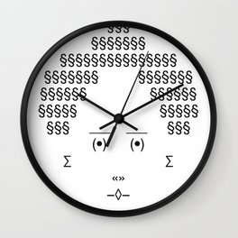 The Only Text Series - Gramma Wall Clock