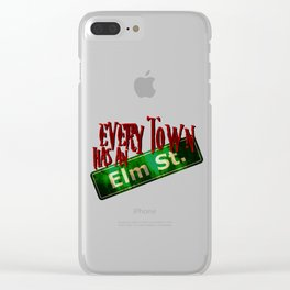 Every Town Elm Street Clear iPhone Case