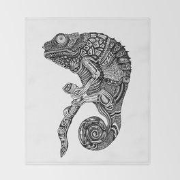 Chameleon Throw Blanket