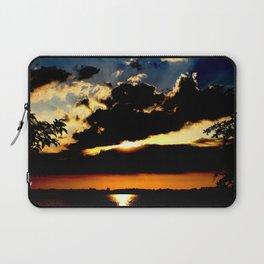 Sunset on the Water Laptop Sleeve
