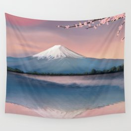 mt fuji Wall Tapestry