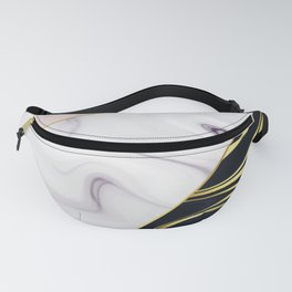 Colorful mix marble pattern Fanny Pack