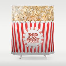 POP CORN Shower Curtain