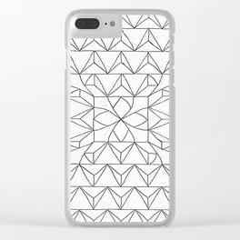 PyramidTrip3 Clear iPhone Case