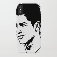 ronaldo iPhone & iPod Cases featuring ronaldo by b & c