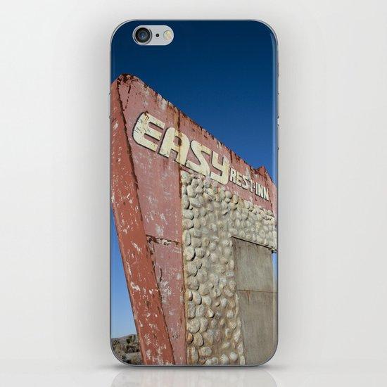 Easy Rest-Inn iPhone & iPod Skin