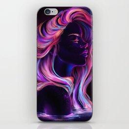 Blacklight Babe iPhone Skin