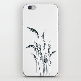 Wild grasses iPhone Skin