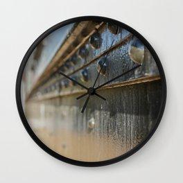 Old Train Wall Clock