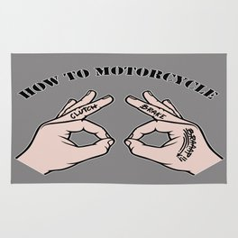 How To Motorcycle Rug