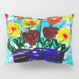 Fanciful Blooms Pillow Sham