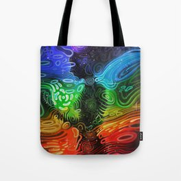 In Alignment With Your System Tote Bag