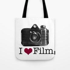I ♥ Film Tote Bag