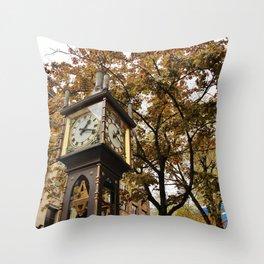Passing Time Throw Pillow