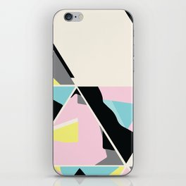 triangle no.3 / with love iPhone Skin