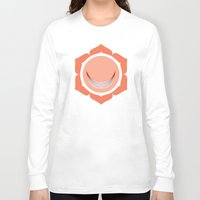 chakra Long Sleeve T-shirts featuring Sacral Chakra by Iron Elefante