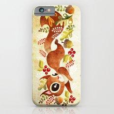 Playful Squirrel iPhone 6s Slim Case