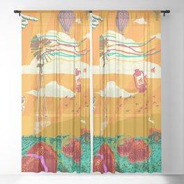 BETTER LAND Pt. 2 Sheer Curtain