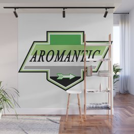 Identity Stamp: Aromantic Wall Mural