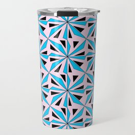 symetric patterns 86-mandala,geometric,rosace,harmony,star,symmetry Travel Mug
