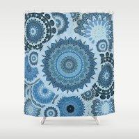 gypsy Shower Curtains featuring GYPSY by Monika Strigel