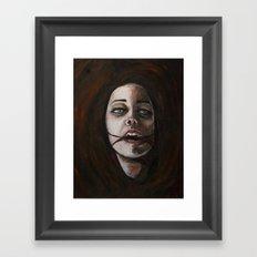 Slaked Framed Art Print