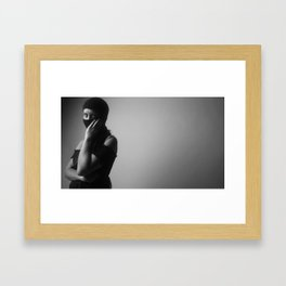 Ski mask Framed Art Print