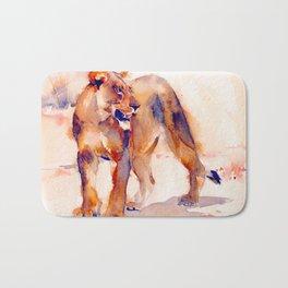 Lioness 2 Bath Mat
