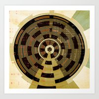 record Art Prints featuring Record by Tammy Kushnir