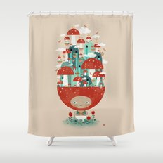 TOADSTOOL TAO Shower Curtain