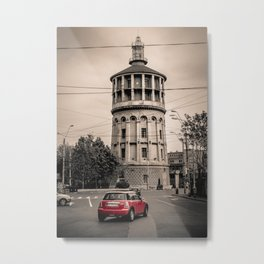 The Fire Tower Metal Print
