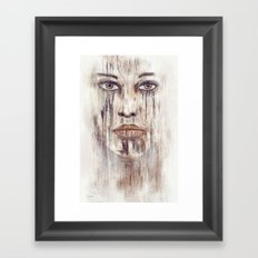 Old thoughts ! Framed Art Print