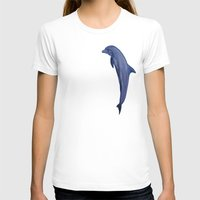 dolphins T-shirts featuring dolphins by ARTito