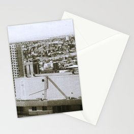 Calgary West, Circa 2009 from the 30th floor Stationery Cards