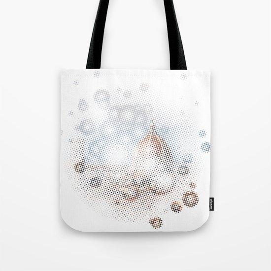 rain drops on Florence Tote Bag