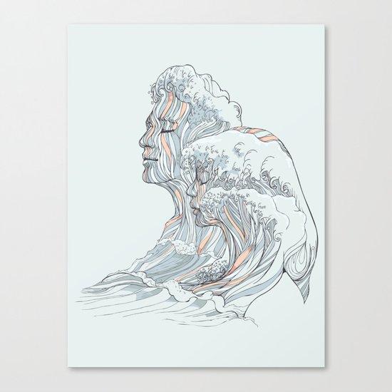 BREATHE DEEPLY Canvas Print