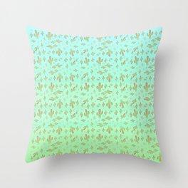 Cactus Boys Throw Pillow