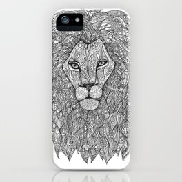 Brother Lion iPhone Case