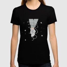 Grey Stripey Shoes T-shirt