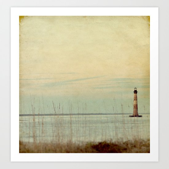 Morris Lighthouse Art Print