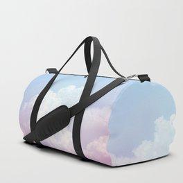 Dreamy Cotton Blue Sky Duffle Bag