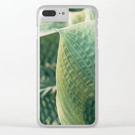 Hosta #1 Clear iPhone Case