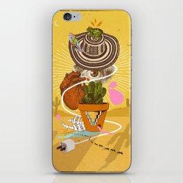 DESERT VISIONS iPhone Skin