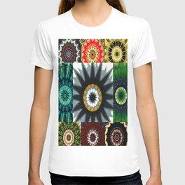 Kaleidoscope Photo Art T-shirt