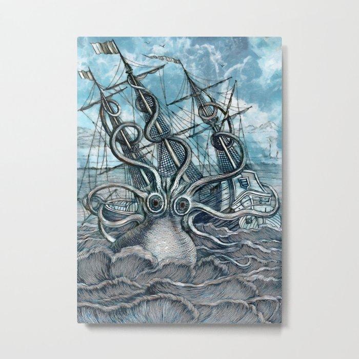 Sea Monster Metal Print
